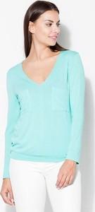 Bluzka Katrus w stylu casual z tkaniny