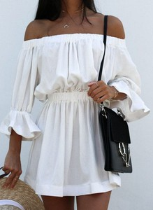Sukienka Sandbella w stylu casual hiszpanka