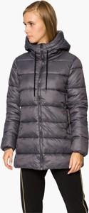 Granatowa kurtka Umbro w stylu casual długa