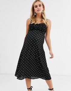 Czarna sukienka Fashion Union Maternity