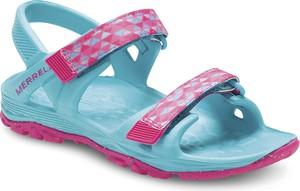 Niebieskie buty dziecięce letnie Merrell