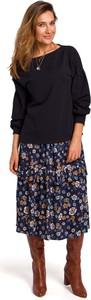 Czarna bluzka MOE z bawełny