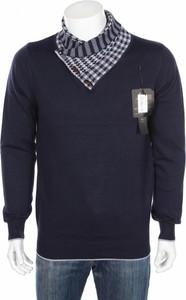 Granatowy sweter Chisnbal