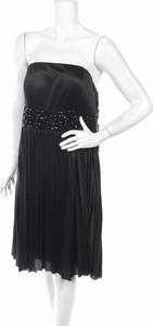 Czarna sukienka Laura Scott mini bez rękawów