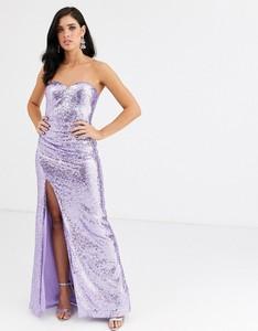 Fioletowa sukienka City Goddess