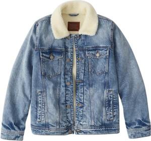 Kurtka Abercrombie & Fitch z jeansu