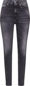 Jeansy Calvin Klein w street stylu z tkaniny