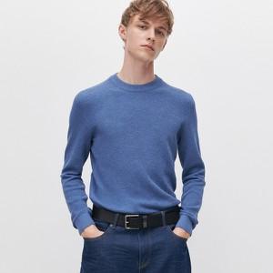 Niebieski sweter Reserved w stylu casual z bawełny