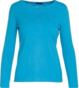 Niebieska bluzka Multu w stylu casual
