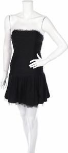 Czarna sukienka Betsey Johnson bez rękawów gorsetowa mini