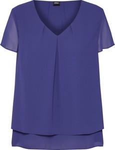 Niebieska bluzka S.Oliver Black Label z szyfonu