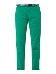 Zielone spodnie Esprit w stylu etno z bawełny