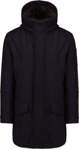 Czarna kurtka Dondup w stylu casual