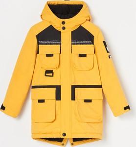 Żółta kurtka dziecięca Reserved