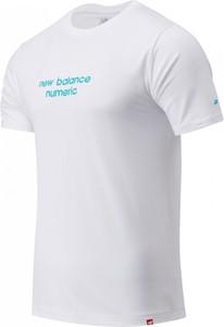 T-shirt New Balance z krótkim rękawem z dżerseju w sportowym stylu