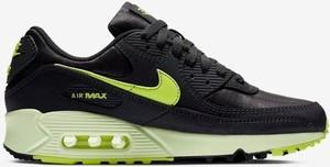 Czarne buty sportowe Nike z płaską podeszwą