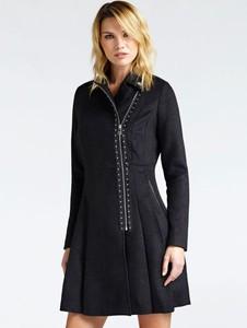 Płaszcz Guess w stylu casual z wełny