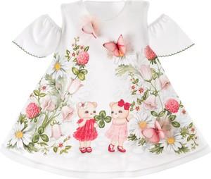 Sukienka dziewczęca Sofija z bawełny