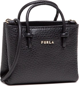 Czarna torebka Furla do ręki matowa