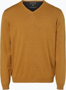 Brązowy sweter Finshley & Harding w stylu casual