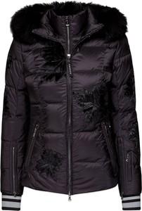 Czarna kurtka Bogner krótka w stylu casual