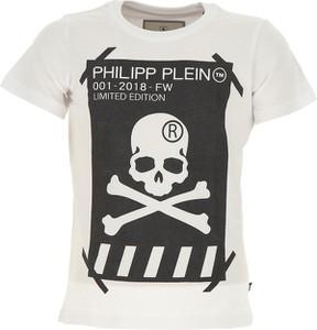 Koszulka dziecięca Philipp Plein z bawełny