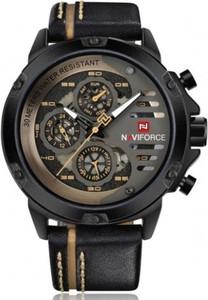 Męski zegarek NAVIFORCE 9110 black&yellow