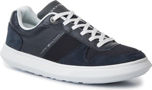Sneakersy TOMMY HILFIGER - Essential Mix Sneaker Cupsole FM0FM02466 Midnight 403