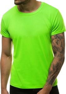 T-shirt producent niezdefiniowany z bawełny w stylu casual