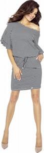 Sukienka Bergamo wyszczuplająca w stylu casual