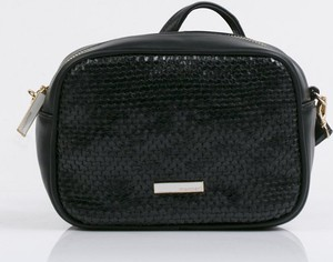 Czarna torebka Monnari ze skóry ekologicznej