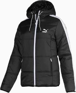Czarna kurtka Puma w sportowym stylu