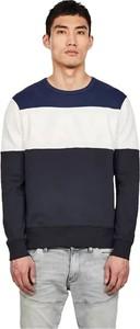 Sweter G-star w stylu casual z okrągłym dekoltem