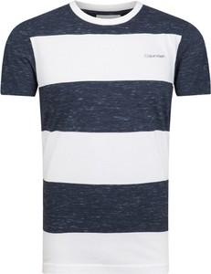 T-shirt Calvin Klein w stylu casual z nadrukiem