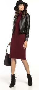 Sukienka Tessita z bawełny prosta z długim rękawem