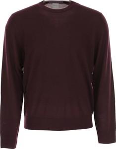 Fioletowy sweter Paul Smith w stylu casual