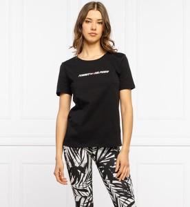 T-shirt Tommy Sport z krótkim rękawem z bawełny