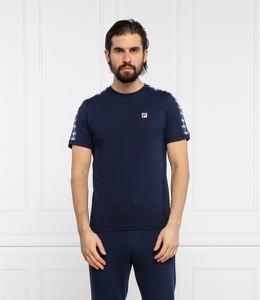 T-shirt Fila z krótkim rękawem w sportowym stylu