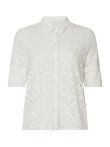 Bluzka Vila w stylu casual z bawełny z krótkim rękawem