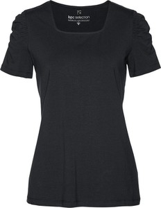 Czarna koszulka dziecięca bonprix