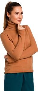 Brązowy sweter MOE w stylu casual