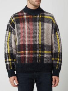 Sweter Tommy Hilfiger w młodzieżowym stylu ze stójką z wełny