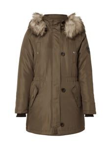 Zielona kurtka Only w militarnym stylu