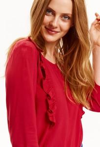 Czerwona bluzka Top Secret