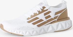 Buty sportowe Emporio Armani sznurowane