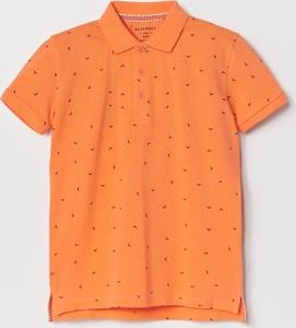 Pomarańczowa koszulka dziecięca Reserved