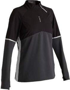 Czarna bluza Kipsta