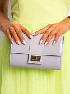 Torebka Rovicky w stylu glamour matowa ze skóry ekologicznej