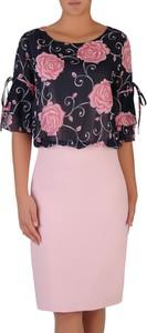 Sukienka POLSKA midi ołówkowa w stylu casual