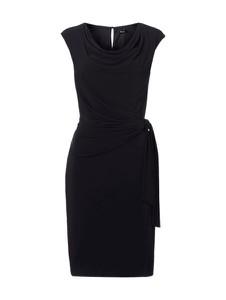 Granatowa sukienka Vera Mont bez rękawów z dekoltem woda